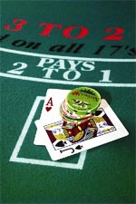 Blackjack Options - Learn About Hit and Stand, Double and Split